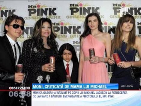 Monica Gabor a creat un scandal in familia lui Michael Jackson