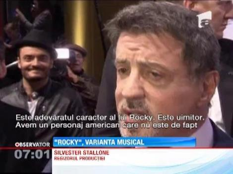 """Rocky"", versiunea muzicala"