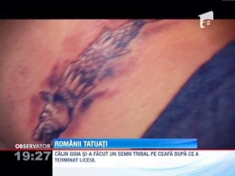 Tatuajele, din ce in ce mai prezente la romani