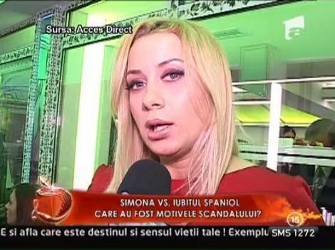 Motivele scandalului dintre Simona Trasca si iubitul italian