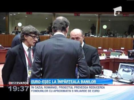 """Negocierile de la Bruxelles au esuat. Basescu: """"Reducerea bugetului UE va fi de 100 de miliarde"""""""