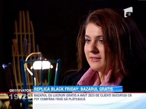 """Replica """"Black Friday"""": Ziua Fara Cumparaturi"""