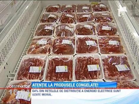 Alimentele congelate cresc riscul de boli cronice