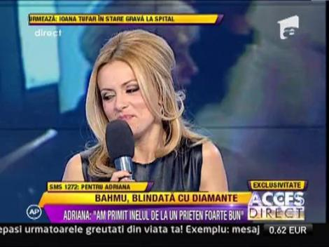 "Adriana Bahmuteanu: ""Mi-e greu sa o iau de la capa cu un barbat"""