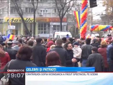 Vedetele au sarbatorit romaneste: De 1 Decembrie, Inna a fost la parada!
