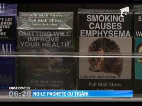 Razboiul contra producatorilor de tigari a inceput in Australia! Guvernul a decis ca toate pachete sa arate la fel