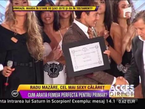 Radu Mazare a urcat din nou pe podiumul de moda, intr-o tinuta de echitatie