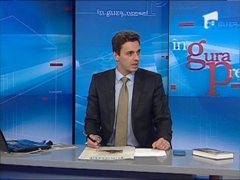 "Mircea Badea: ""Asa cum se inchina Udrea la becuri, asa se inchina si unii reporteri la Parchet"""