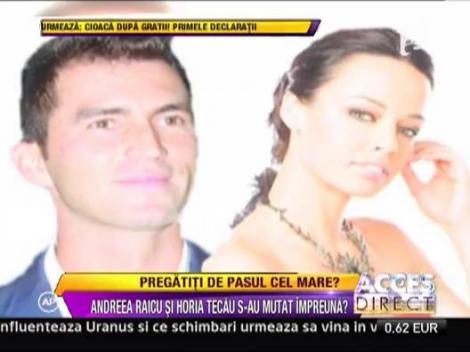 Andreea Raicu si Horia Tecau s-au mutat impreuna