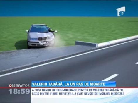 Valeriu Tabara a intrat cu masina intr-un pod si s-a accidentat grav