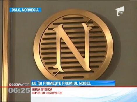Liderii statelor din UE primesc astazi premiul Nobel pentru pace