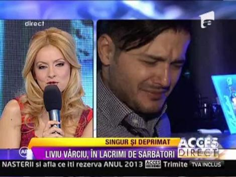 Liviu Varciu, in lacrimi de sarbatori
