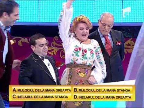 Randul 1: Maria Carneci, Adrian Minune si Nelu Ploiesteanu vs. blonde