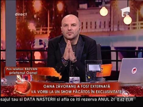 """Razvan, prietenul Oanei: """"Nu a consumat niciun fel de drog. A fost in coma de gradul 4!"""""""