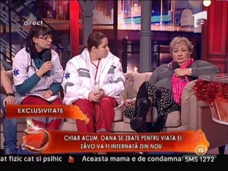 Mariana Zavoranu a suferit o cadere de calciu in platoul de la Un Show Pacatos