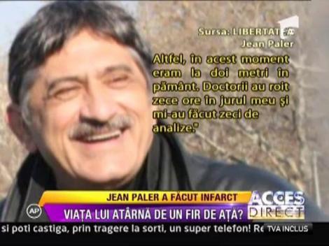 Jean Paler a ajuns de urgenta la spital dupa un infarct