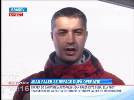 Jean Paler se simte bine dupa operatie. Va ramane internat!