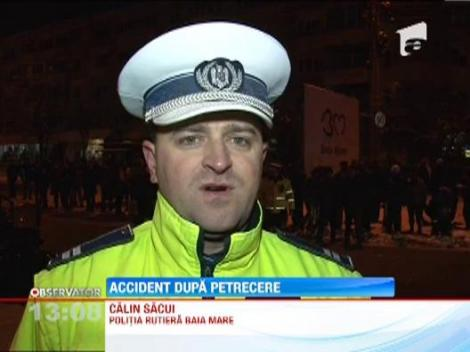Accident grav la iesirea din Baia Mare