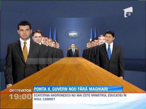 Guvernul Ponta 2, FARA UDMR. Vezi aici COMPONENTA viitorului Executiv