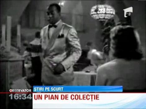 """Faimosul pian din celebrul film """"Casablanca"""", vandut la licitatie"""