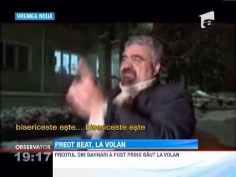 Un preot dintr-o localitate vasluiana a fost prins beat la volan