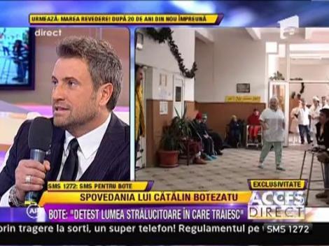 "Catalin Botezatu, chelner pentru oamenii strazii: ""Am plans cand am plecat de la adapost"""