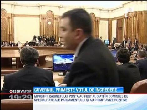 UPDATE! Cabinetul Ponta primeste votul de incredere al Parlamentului Romaniei