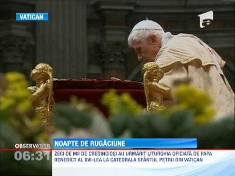 Cele mai frumoase liturghii de Craciun au fost celebrate la Vatican si Betleem