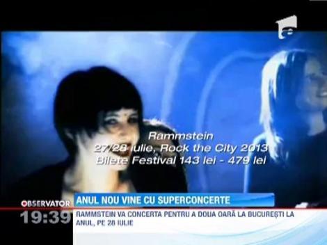 Marile concerte din 2013: Depeche Mode, Rammstein sau Andrea Bocelli