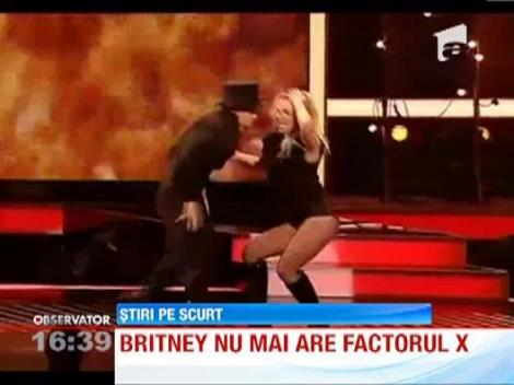 Britney Spears nu mai are factorul X