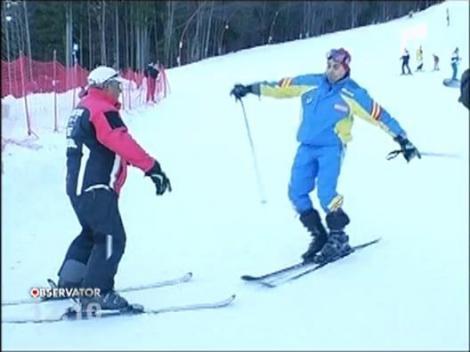 Cursuri de schi pentru pasionatii sporturilor de iarna