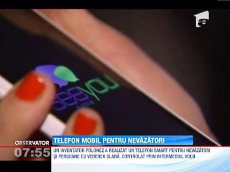 Un polonez a inventat primul smartphone pentru nevazatori