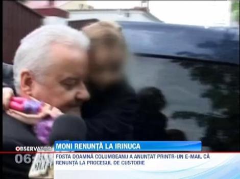 UPDATE / Monica Gabor a renuntat la custodia fiicei sale