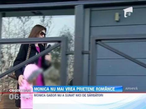 Monica Gabor nu mai vrea prietene romance