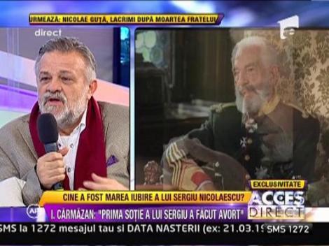 """Ioan Carmazan: """"Povestea cu presupusul fiu i-a facut rau Danei"""""""