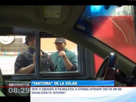 """""""Fantoma"""" de la volan"""