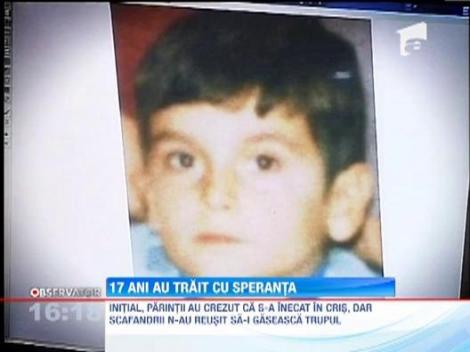 Arad: Un politist a realizat portretul robot al unui copil disparut de 17 ani