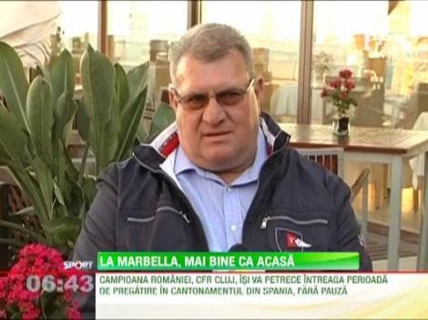 Campionii de la CFR au plecat in cantonamentul de la Marbella