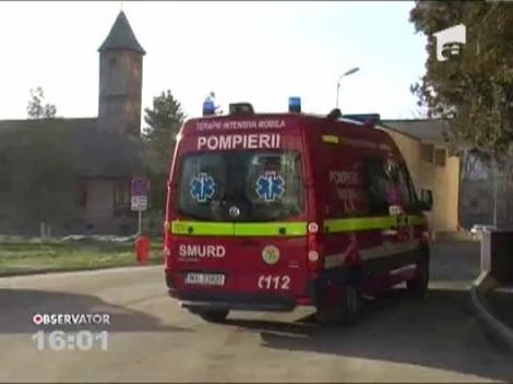 Accident grav in judetul Arad: Sapte oameni au ajuns la spital
