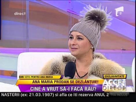 Anamaria Prodan se intoarce la Euforia