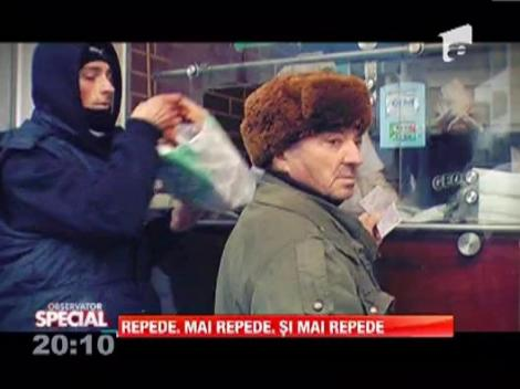 Observaor Special: Romanii sunt dependenti de fast-food, iar Oana Lis este exemplul perfect