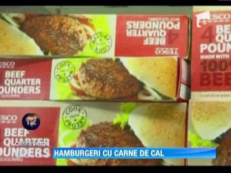 S-a intamplat in Marea Britanie: Hamburgeri de vita cu carne de cal