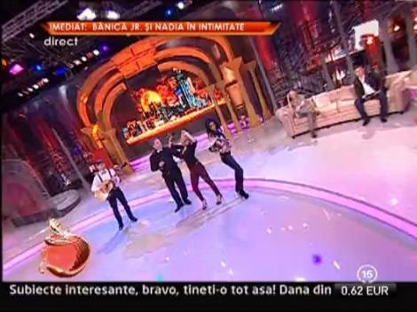 "Daniela Gyorfi canta la ""Un show pacatos"""