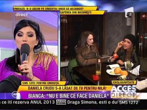 "Daniela Crudu: ""Mihai mi-a spus sa fac ce vreau. Nu am facut televiziune pentru bani"""