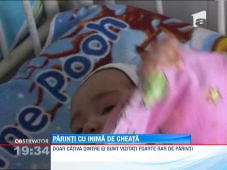 Doi parinti din Barlad au refuzat sa-si inmormanteze bebelusul abandonat dupa nastere, in spital