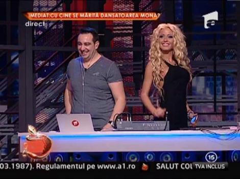 Ionescu Adrian a castiagat un telefon mobil, la Un show pacatos