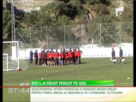 Gigi Becali e la picioarele lui Victor Piturca