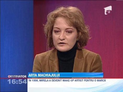 Arta machiajului cu Mirela Vescan