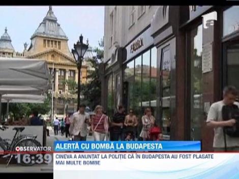 Alerta la Budapesta! Mai multe institutii publice au primit amenintari cu bomba
