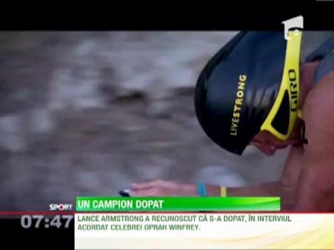Lance Armstrong recunoaste ca s-a dopat